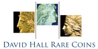 David Hall Rare Coins Logo