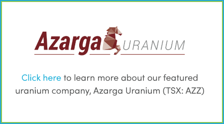 Learn more about our featured uranium company, Azarga Uranium